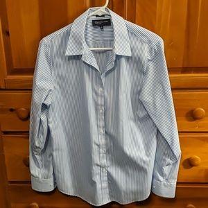 JNY non iron button down striped shirt